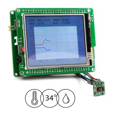 Let's Make - Datalogger for Temp. and Humidity