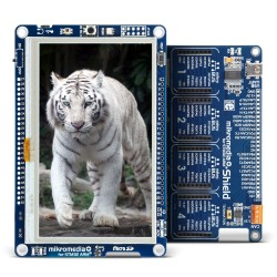 mikromedia Plus for STM32 with Shield
