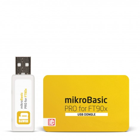 mikroBasic PRO for FT90x (USB Dongle)