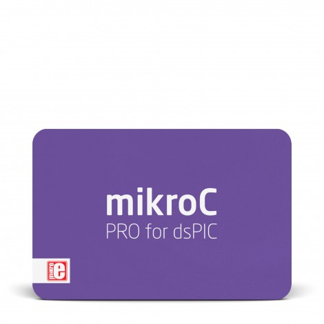 mikroC PRO for dsPIC/PIC24