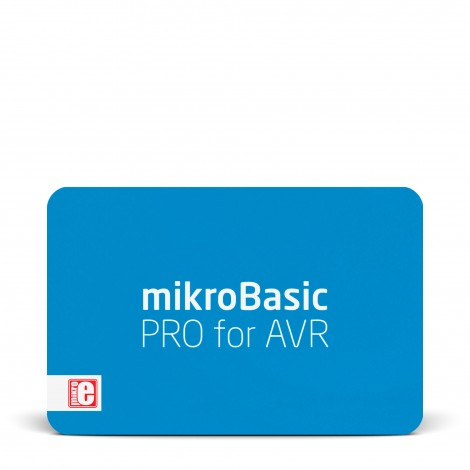 mikroBasic PRO for AVR