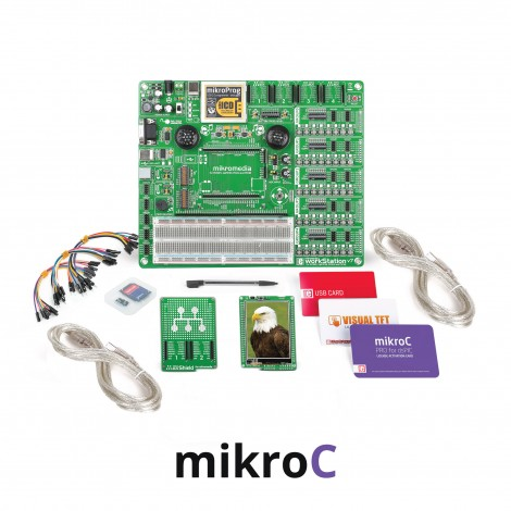 mikroLAB for mikromedia - dsPIC33