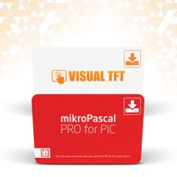 mikroPascal PRO for PIC + Visual TFT - special offer