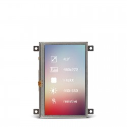 "Riverdi Display 4.3"" Res"