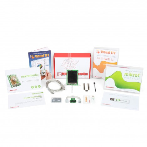 TFT Developer kit - STM32F3