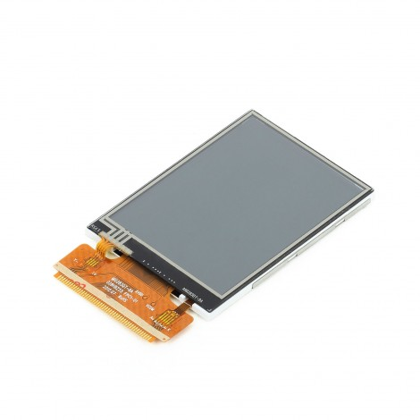 "2.8"" TFT Color Display with Resistive Touch Screen"