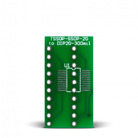 TSSOP-SSOP-20 to DIP20-300mil Adapter
