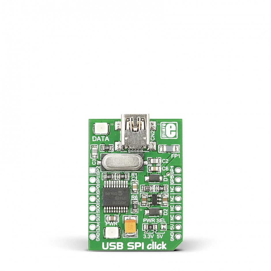 Click photo for larger image - Usb Spi Click View Larger